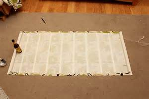 No Sew Roman Shades From Mini Blinds - como coser cortinas romanas cortinas pinterest