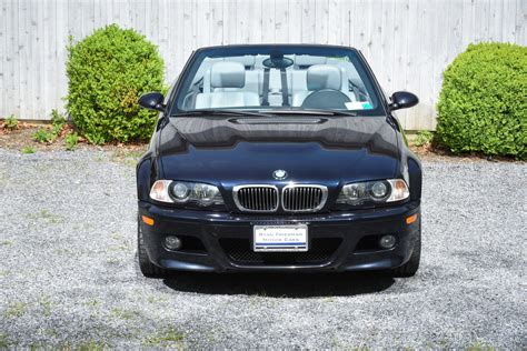 used bmw m3 convertible 2002 bmw m3 convertible 6 speed manual 27569 carbon