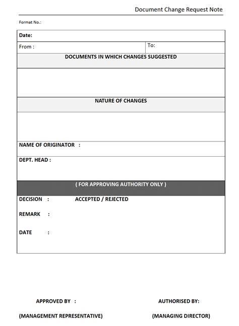 document request form template change request templates hospi noiseworks co