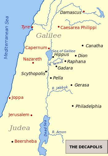 caesarea philippi map who do you say that i am psalms