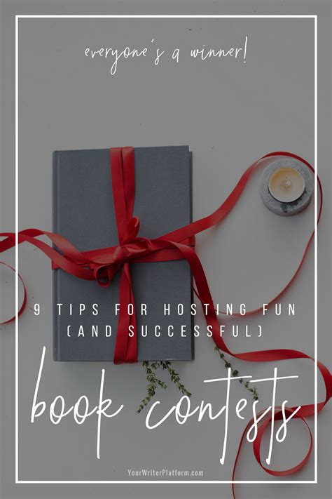 Book Giveaway Contest - everyone s a winner 9 tips for hosting fun and successful book contests your