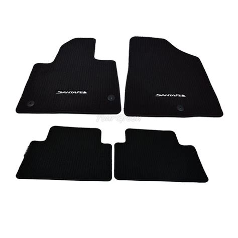 Santa Fe Floor Mats by Genuine Floor Mats Set For Hyundai Santa Fe New 2011 2014