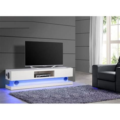 white tv stand with led lights royal white high gloss finish plasma tv stand with led