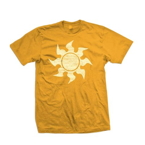 T Shirt Sun magic the gathering quot white mana quot sun shirt