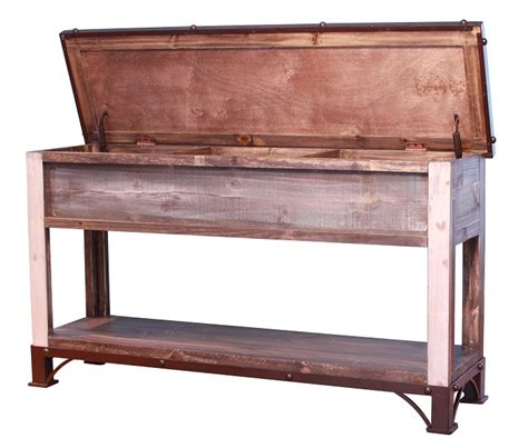 storage sofa table antique trunk storage sofa table