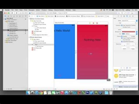 xcode tutorial iphone ios 6 hello world tutorial for ios iphone app development