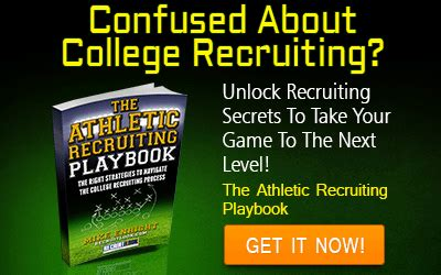 the athletic scholarship playbook a complete college recruiting roadmap for high school athletes and parents books the athletic recruiting playbook recruit look