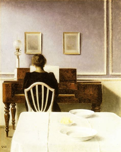 Smith Barn File Vilhelm Hammershoi Interior Wit A At The Clavier