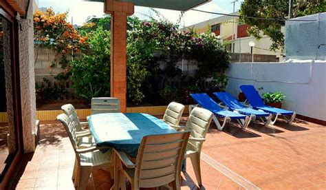 Re Rollstuhl Terrasse by Los Cristianos Villa Behindertengerechte
