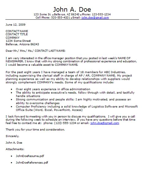 Response Letter For Advertisement Classified Ad Response Cover Letter