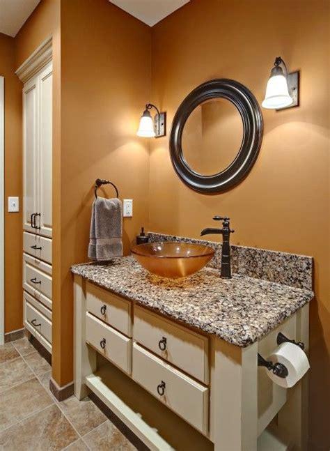 burnt orange paint color  accompany graywhite