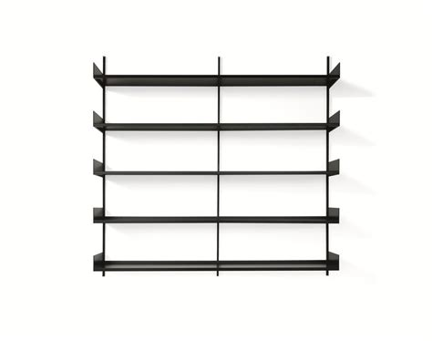metal shelving system shelving system in metal lacquered system by ydf