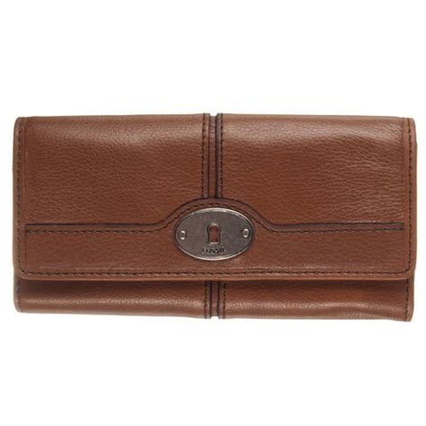 Fossil Bug Wallet new fossil womens maddox leather flap clutch wallet sl3022215