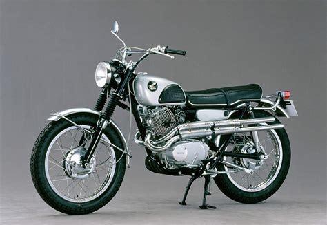 125er Motorrad Rennmaschine by Honda Cl 250 Scrambler 1968 1972 Ein Motorrad Als