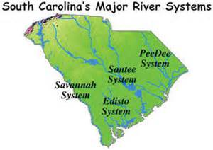 map of rivers in carolina topic 2 1 south carolina social studies 301