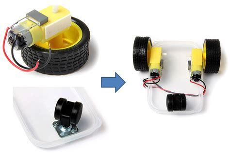 membuat robot murah membuat rangkaian robot microbot dengan arduino uno