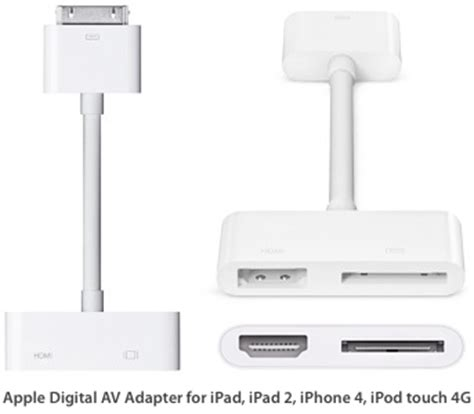 Converter Kabel Lighting To Hdmi Tv Proyektor Ipod Iphone 5 6 7 1 hdmi adapter kabel apple i hvid apple 30 pin universal