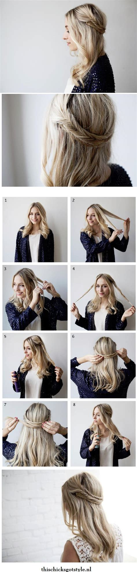 hairstyles for short hair tutorial craftionary