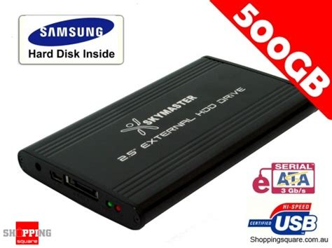 Hardisk 500gb Samsung samsung 500gb 2 5 quot e sata portable disk drive shopping shopping square au