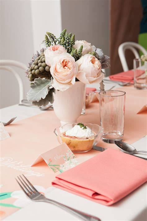 pink and peach wedding decor   The Sweetest Occasion ? The