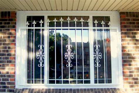 Decorative Security Bars For Windows And Doors Window Guards Denver Colorado Window Security Bars