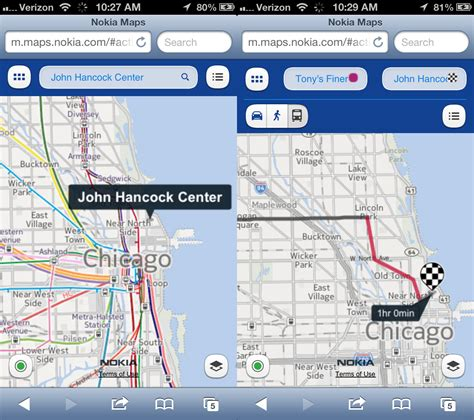 nokia maps replacing ios 6 maps on with mapquest waze nokia ars technica