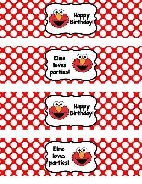 free elmo printable birthday decorations pictures of elmo clipart best