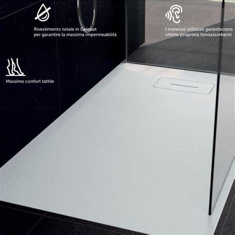 piatto doccia 120x90 piatto doccia 120x90 novosolid bianco effetto pietra novellini