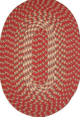30 round rugs and exles of how to complete the look of hometown 30 quot x 50 quot braided rug in colonial red by