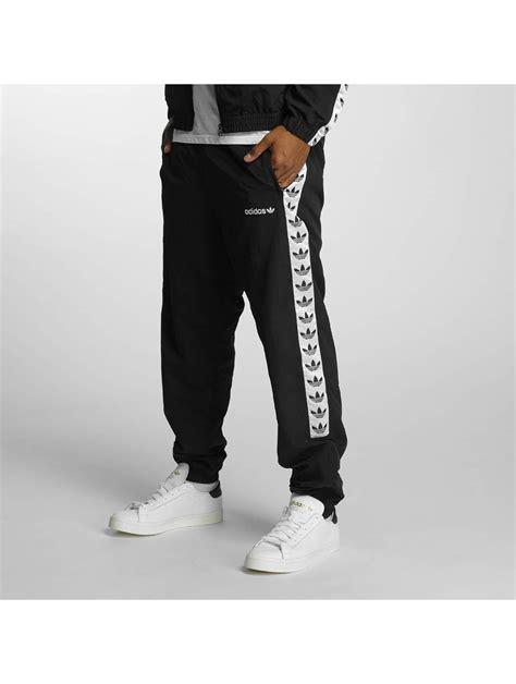 adidas herren jogginghose tnt tape wind  schwarz