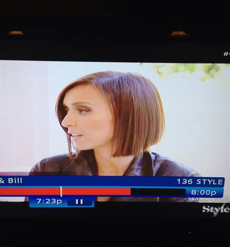 giuliana rancic short bob giuliana rancic short bob hairstyle side view cute