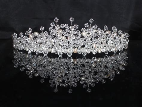 Handmade Tiaras Uk - the 35 best images about bridal tiaras by beadinmarvellous