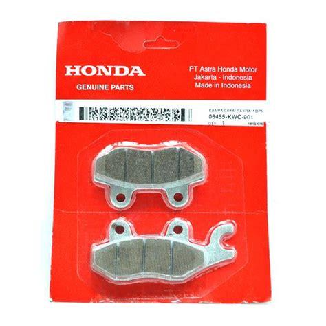 Brake Pad Atau Kas Rem Depan Honda Jazz Rs Original kas rem cakram depan pad set fr honda cs1 06455kwc901