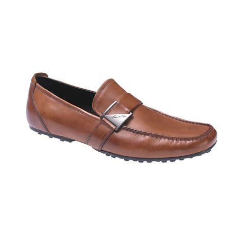 next loafers kenneth cole next wave ornament loafers in black for