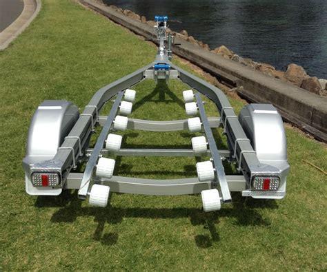 aluminum boat and trailer seatrail aluminium boat trailer to suit jetskis