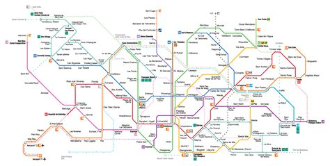 barcelona zone 1 map barcelona metro map 2018 ticket prices