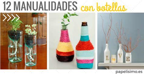 12 Ideas Creativas Con Botellas Y Tarros De Vidrio Papelisimo | 12 ideas creativas con botellas y tarros de vidrio