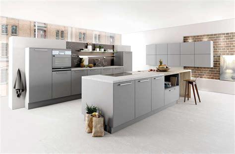 mat駻iel de cuisine professionnel 2035 gris perle laque mate arivat kuchen votre