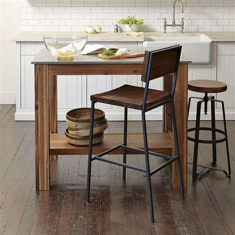 kitchen island table with chairs the beauty of rustic industrial kitchens