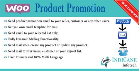 Woocommerce Product Promotion Reminder By Indicane Codecanyon Product Promotion Email Template