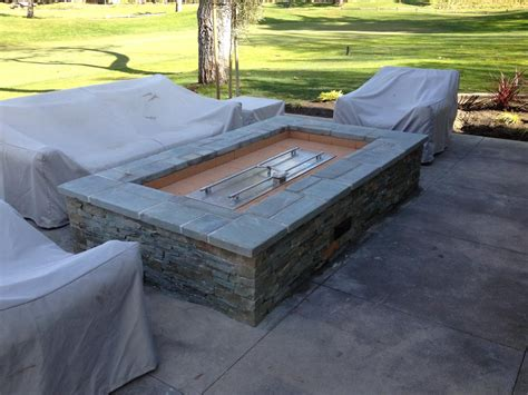 how to build an outdoor gas pit diy gas pit burner pit design ideas