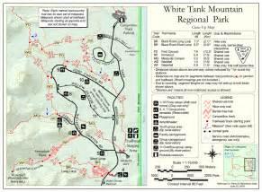 arizona hiking trail maps goat c mesquite loop hiking arizona hikearizona