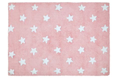 tappeto rosa tappeto stelle rosa bianco