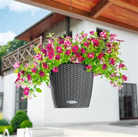 The Big List Of Self Watering Planters For Stylish Self Watering Hanging Planters