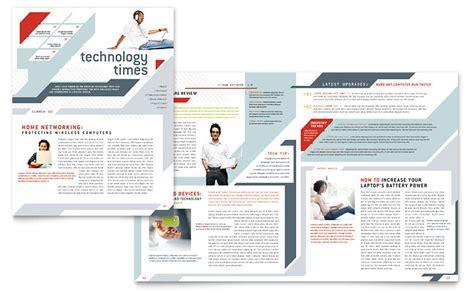 information technology newsletter template farm invrs co