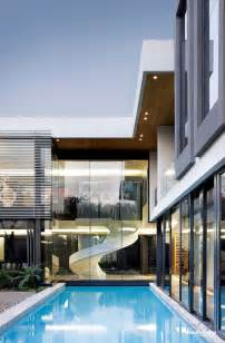 contemporary modern house sparkling glass house in johannesburg twinkles with