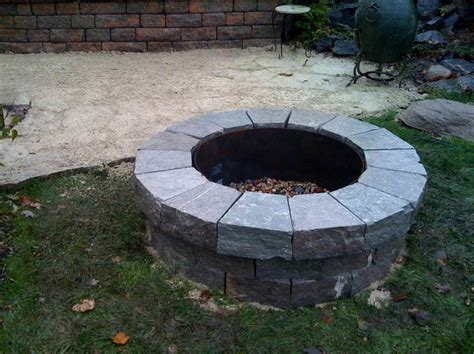 triyae portable outdoor pit lowes various