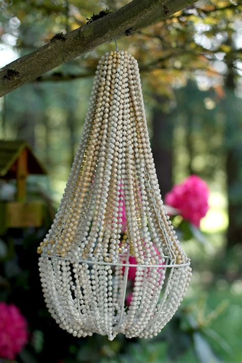 diy beaded chandelier tutorial how to make beaded chandelier diy crafts handimania