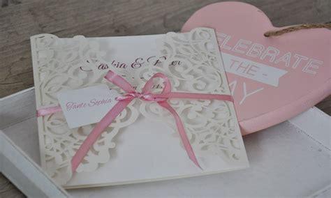 Hochzeitskarten Mit Spitze by Einladungskarten Hochzeit Spitze Quot Maritim Quot