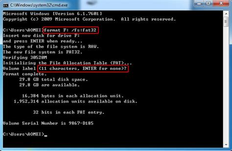 format diskpart fat32 how to convert raw to fat32 using cmd with ease
